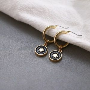 Starry night earrings 🌠